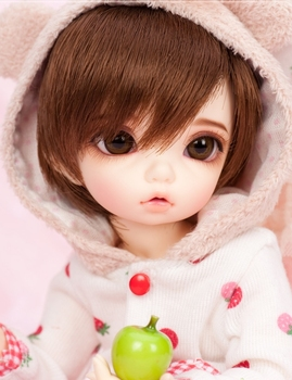 Free makeup&eyes included!TOP quality 1/6 bjd baby doll bisou boy girl dreaming best gifts cute kids toy manikin