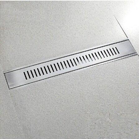 Stainless Steel Floor Drain Bathroom Kitchen Shower Rectangle Floor ...