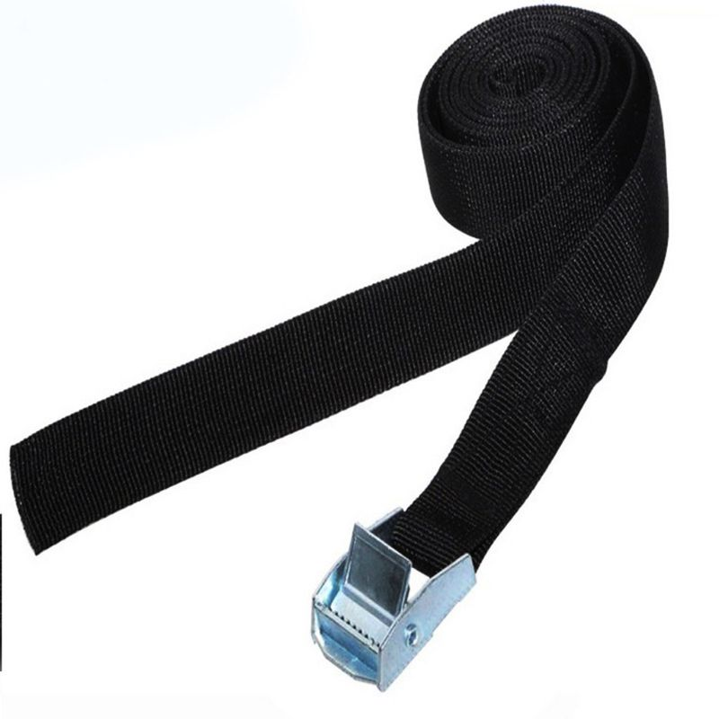 2019 NEW 1M Buckle Tie-Down Belt Cargo Straps For Car Motorcycle Bike With Metal Buckle Tow Rope Strong Ratchet Belt