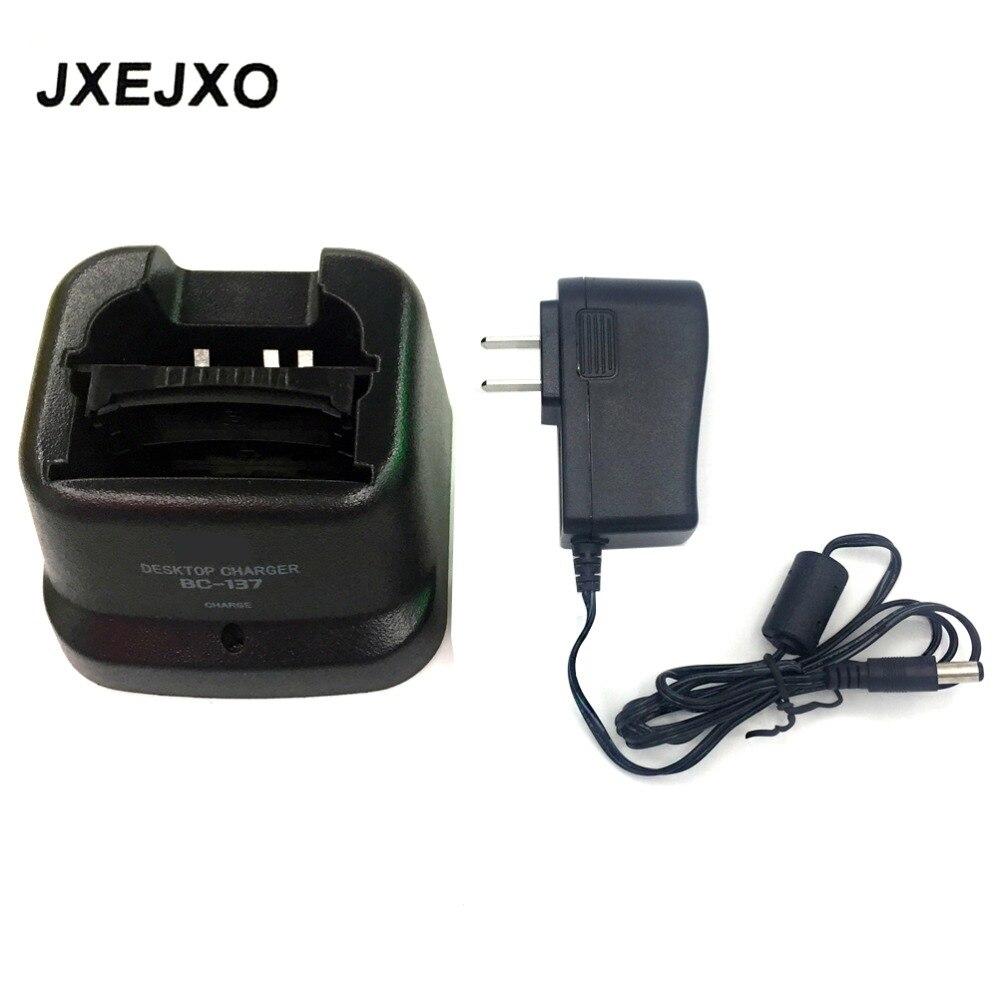 imágenes para Jxejxo 110 v-240 v ni cargador bc-137 para icom para ic-a6 ic-a24 ic-v8 ic-v82 ic-u82 ic-f3gt, ic-f4gt, ic-f30gt, IC-F40GT