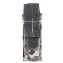 Nuovo 600D Outdoor Tactical Open Top Singolo Mag Sacchetto Magazine Holster Del Sacchetto con Clip da Cintura