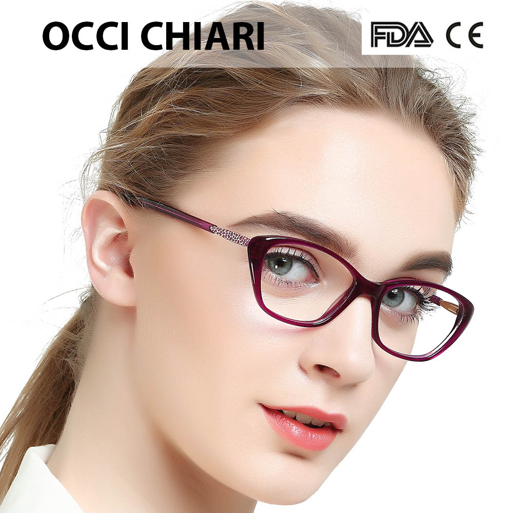 684ee44ec05 OCCI CHIARI Acetate Prescription Clear Computer Glasses Frame Nerd Lens  Medical Optical Eyewear Oculos Lunettes Gafas BETTI. В избранное. gallery  image