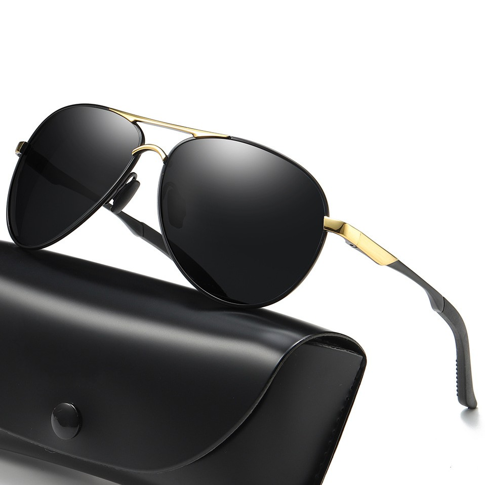 4019b03e1 Men's Sunglasses Rays Aviation Brand Designer Pilot Polarized Male Sun  Glasses Eyeglasses gafas oculos de sol