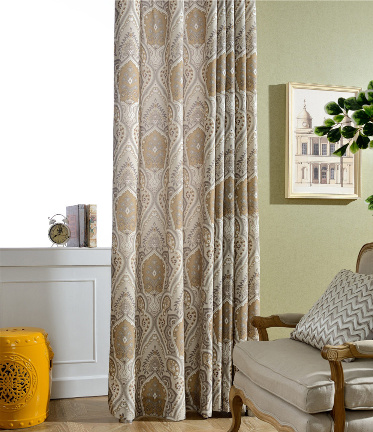 Blackout Kitchen Curtains Polyester Valance Tiers 3: The New Polyester Cotton Printed Curtains. Beautiful Of