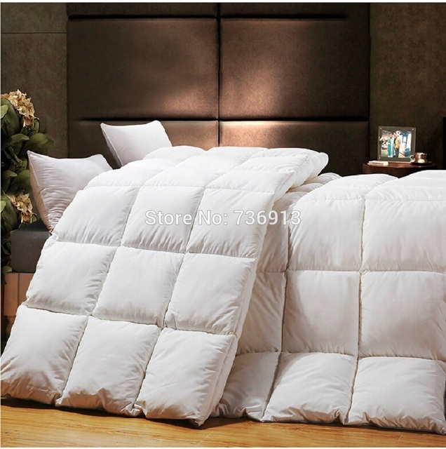 Free Shipping King Queen Full Twin Goose Down Doona Quilt Blanket ... : quilt vs comforter vs duvet - Adamdwight.com
