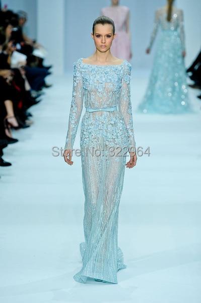Prom Dresses Blue Elie Saab