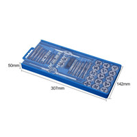 40 sets of taps die sets small tacks wire tapping dies tapping tools 40PC metric system
