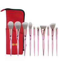 MAANGE New Arrival Makeup Brushes Pro 10Pcs Pink Makeup Brushes Set Beauty Make Up Brush 1Pcs