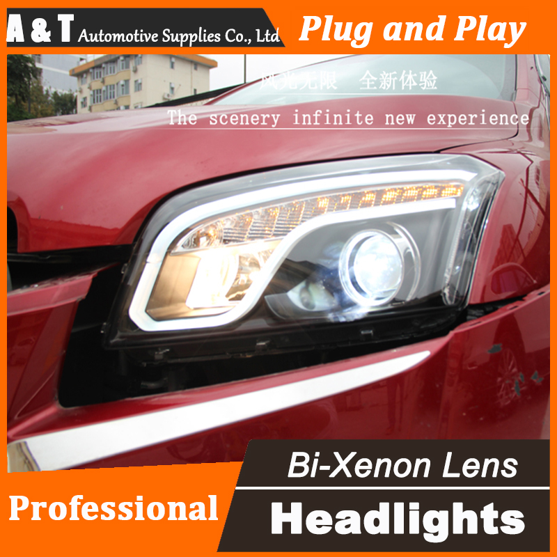 Car Styling LED Head Lamp for Chevrolet Trax headlight assembly 2013-2016 New Trax led headlight led drl H7 with hid kit 2 pcs. car styling head lamp for bmw e84 x1 led headlight assembly 2009 2014 e84 led drl h7 with hid kit 2 pcs