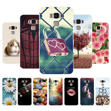 Custom Soft Silicone Case For Asus Zenfone 3 Max Case Coque For Asus Zenfone3 Max ZC520T ZC553KL Cover Case Back Fundas Housing back battery cover door housing case for asus zenfone 3 ze520kl