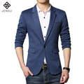 2016 New Men Long Sleeved Blazers Jackets Coats Dress Suits Men's Casual Fashion Slim Fit Large Size Single Button Style Blazers