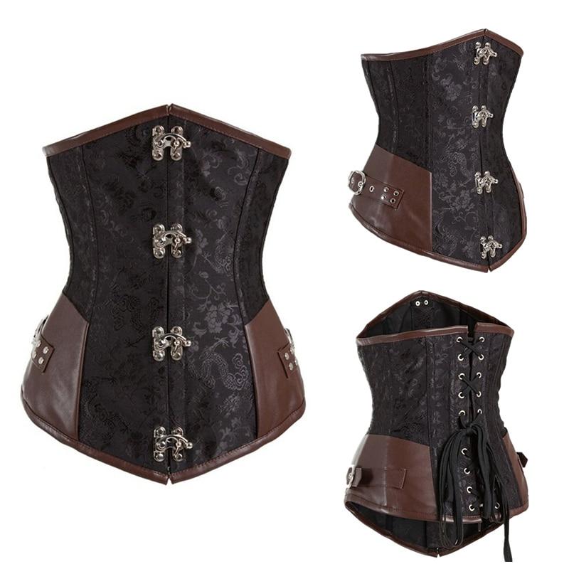 Plus Size Waist Control   Corset   Steel Bone Underbust   Corsets   Dobby Corselets Slim Body Shaper   Bustiers   Cincher   corset