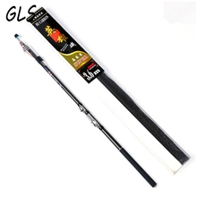 Gift Package Hard Telescopic Fishing Rod  2.7m 3.6M 4.5M 5.4M 3.0M 6.3M Spinning Rock