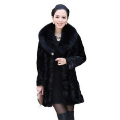 De La Fourrure Furry Hiver Manteau Femmes Veste Taille Femme Outwear Vison Fausse Faux Artificielle Plus Q913 Fluffy 2018 gqw4xnCF