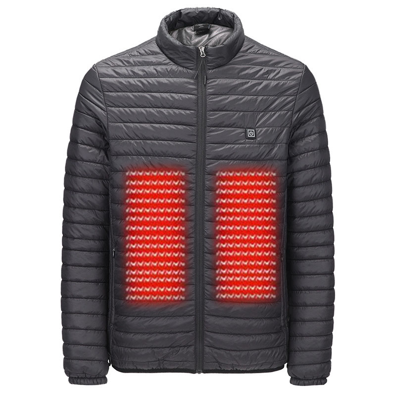 Men's Outdoor Jackets Waterproof Winter Heated Jackets Thermal Heating Clothing Skiing Coat Men Hiking Jacket S 5XL
