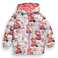 WENDYWU Kids Toddler Jacket Elsa Coat Costume Hooded Anna Snow Queen Windbreaker for Children Outerwear blazer Clothing minnie