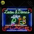 Неоновая вывеска для Parrot Место неоновая лампа знак пивной бар пивной ресторан дисплей ручной работы стеклянная трубка свет декор настенные...