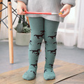 INS new Style Fashion Cloud Tree Horse Pattern Baby Tights Pantyhose Tights For Grils Warm Tights Winters 0-3T