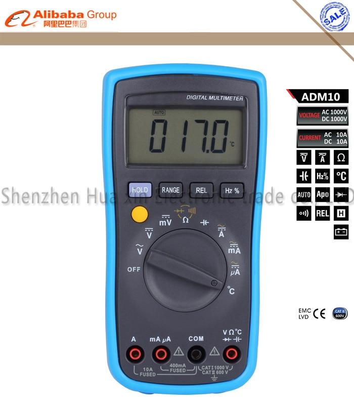 Fluke Capacitance Meter : Bside adm digital multimeter dmm dc ac voltage current