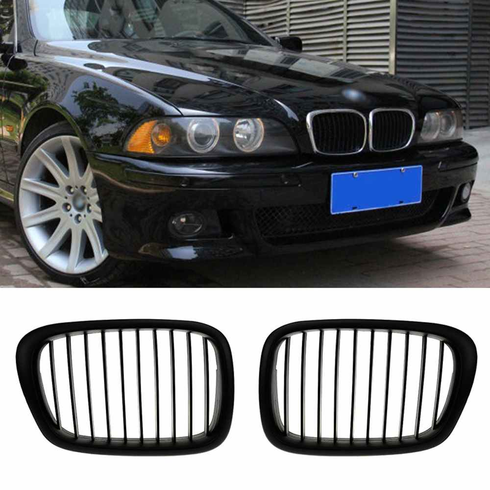 BMW 5 Series E39 Saloon Touring Gloss Black Kidney Sport Front Grill M M5 95-04