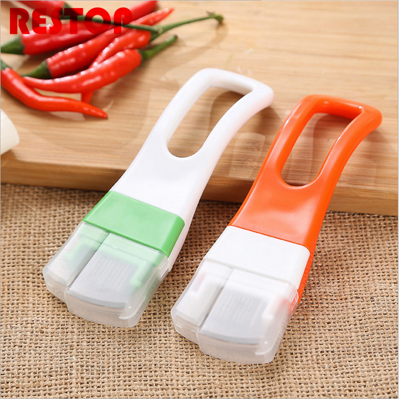 Stainless steel green onions cutter green spring onion slicer device vegetable shredder slicer cutter easy handle RES045