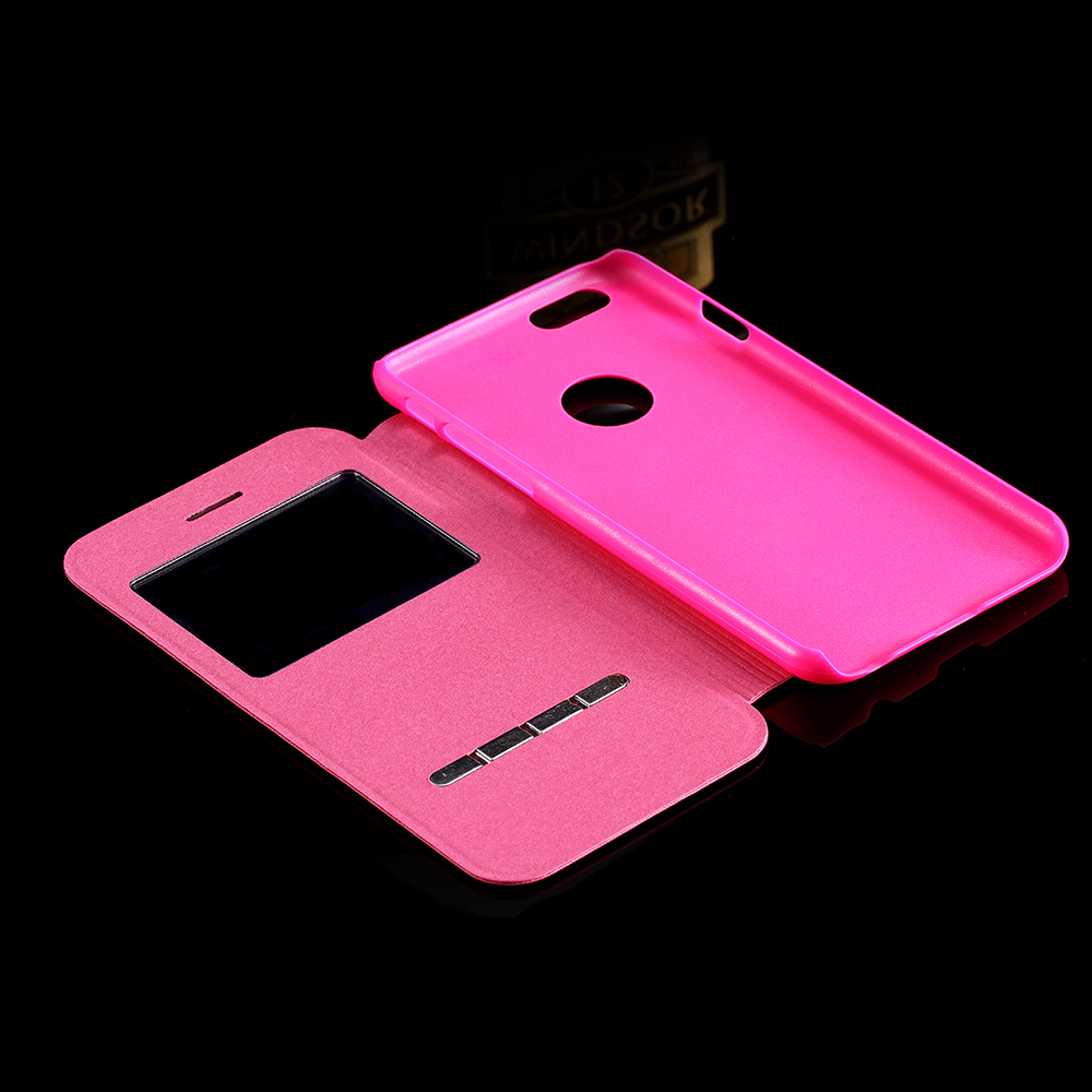 new concept 6aa85 94ca2 US $7.29 |For iPhone 6 6s Luxury Smart Front Window View Leather Flip Case  for Apple iPhone 6 6s 4.7/Plus 5.5 Slim Phone Accessories Cover on ...