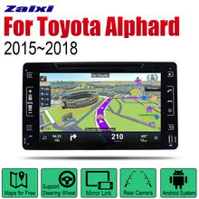 ZaiXi Auto Radio 2 Din Android Car DVD Player For Toyota Alphard 2015~2018 GPS Navigation BT Wifi Map Multimedia system Stereo zaixi auto radio 2 din android car dvd player for toyota corolla 2013 2016 gps navigation bt wifi map multimedia system stereo
