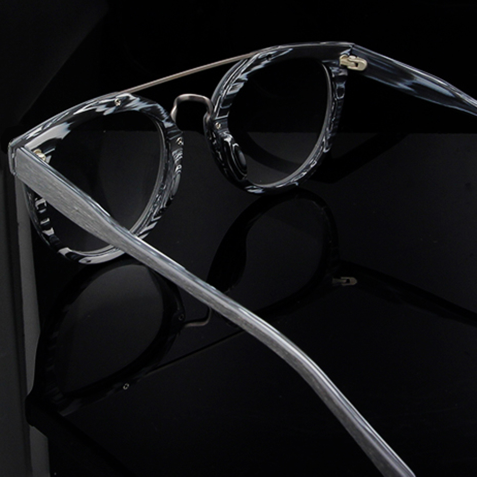 Syze syze ESNBIE Dizajn Kornizë Gratë Fake Lunettes Wood de Vue - Aksesorë veshjesh - Foto 6