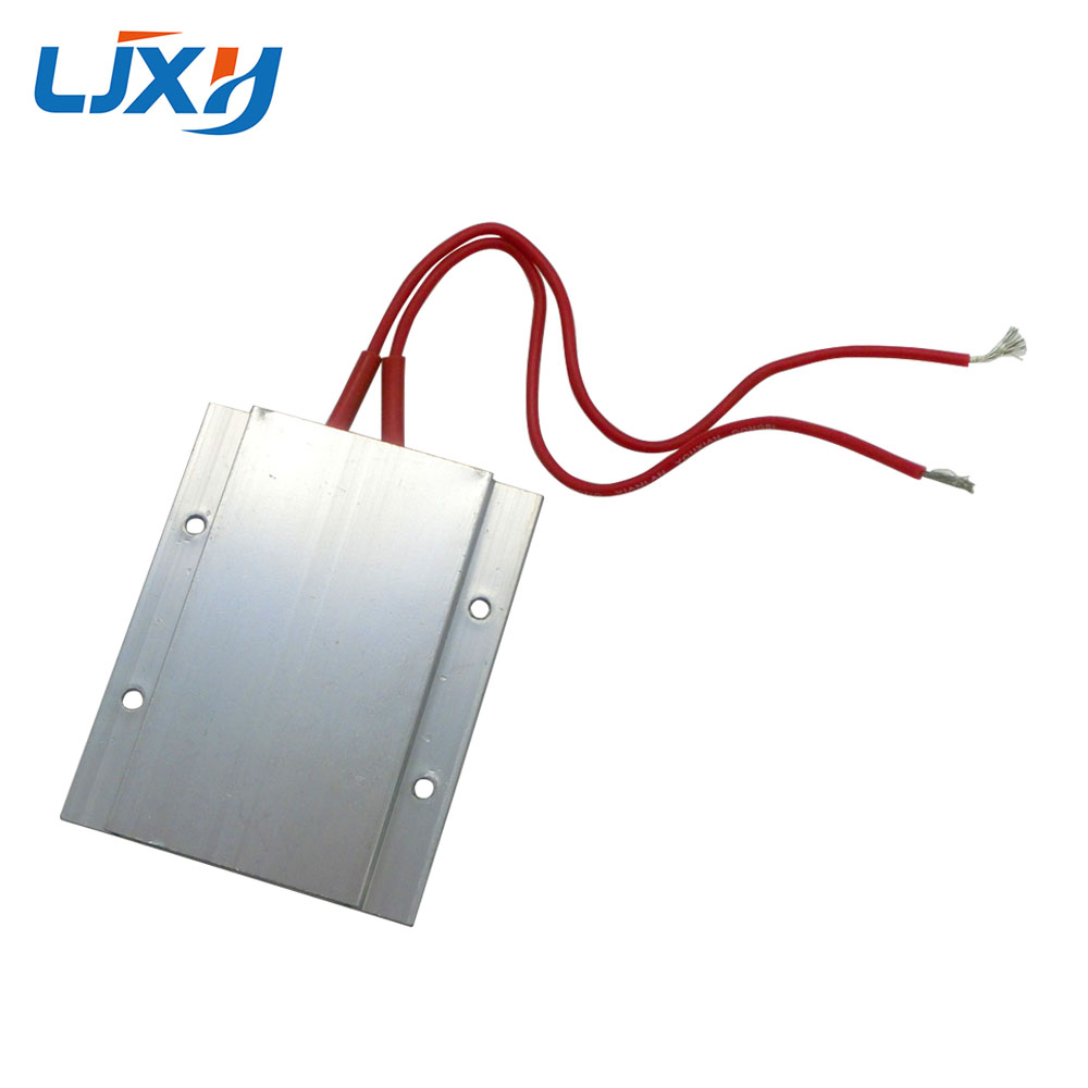 Ljxh Thermostat Ptc Aluminum Heating 12v 65 80 120 200 Degrees Hot Water Heater Incubator Wiring Constant Temperature 77x62x6mm For Dehumidification In Electric Parts