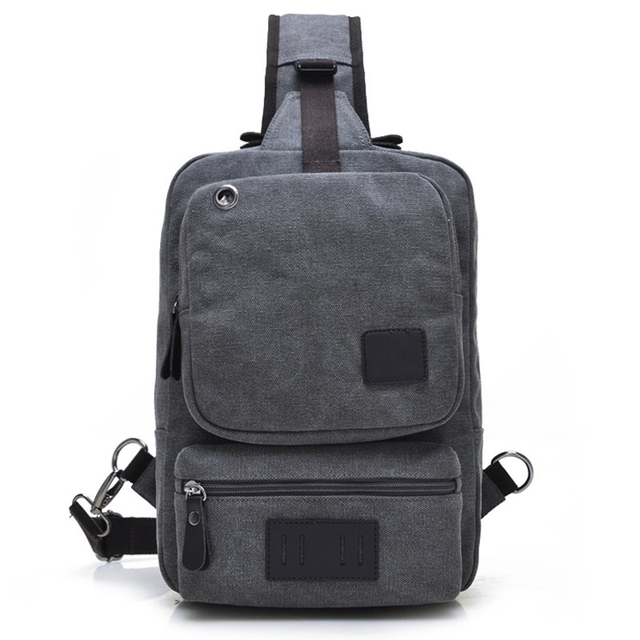 a69512bbfe Fashion One Shoulder Backpack Triangle Rugtas Trend Chest Pack Men and  Women Single Backpack Shoulder Chest Bags Mochila Plecaki