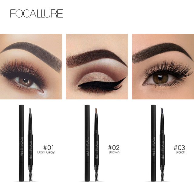Aliexpress Buy Focallure New Makeup Eyebrow Pencil Waterproof