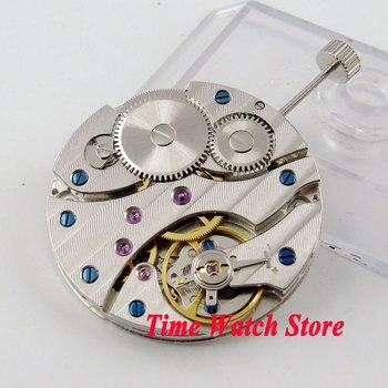 Часы PARNIS с механизмом 17 Jewels mechanical Asia 6497, мужские наручные часы с ручным заводом M12