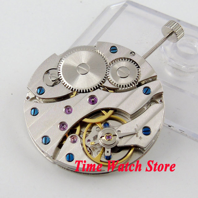 PARNIS watch movement 17 Jewels mechanical Asia 6497 Hand-Winding movement fit f