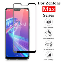 Tempered Glass For Asus Zenfone Max Pro M2 M1 ZB631KL ZB633KL ZB602KL ZB555KL 4 3 Max ZC554KL ZC520KL ZC520TL ZC553KL Film Glass(China)
