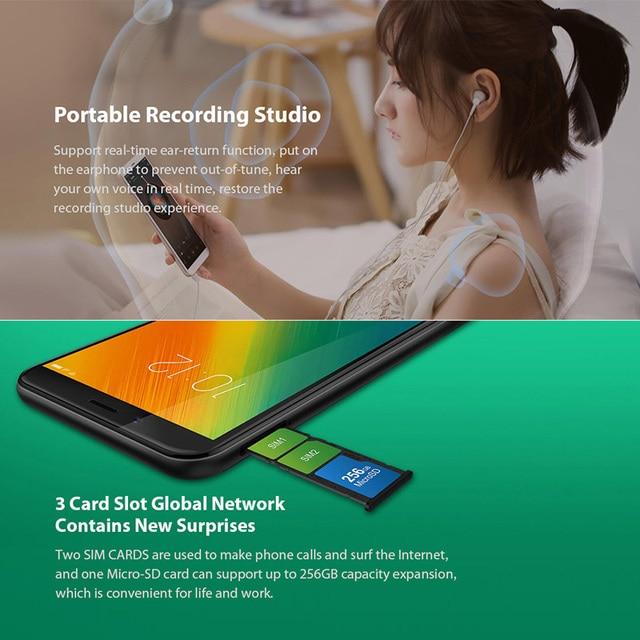 "Lenovo K9 Note 3/4GB  32/64GB Global Version 6"" Smartphone Snapdragon Octa Core Face ID 16MP Camera 3760mAh Battery Lenovo Phones"