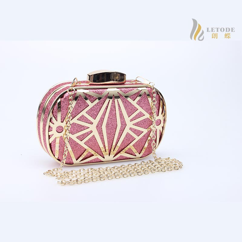 Vintage evening bags Sequined Hollow Out clutch bags sac a main femme de marque dollar price gold pink blue handbags pruse 6017 kzni genuine leather evening clutch bags designer handbags high quality purses and handbags sac a main femme de marque 1162 1168