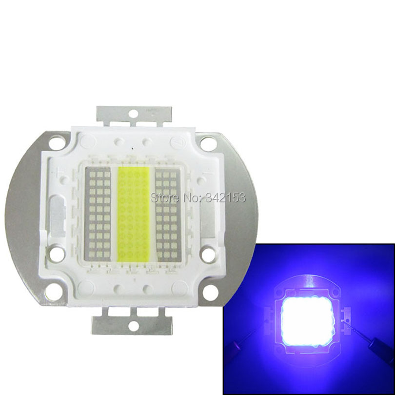 ФОТО New Arrival High Power Epileds 45mil 100W 3000MA Royal Blue 450nm + White 15000K Led Moulde Chips Light Free Shipping