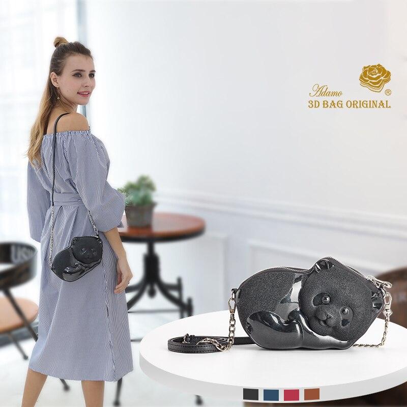 Adamo 3D Bag Original Chi Chi Panda Sling Bag Mini Crossbody Bags for Women Messenger Bags Small Female Shoulder Handbags