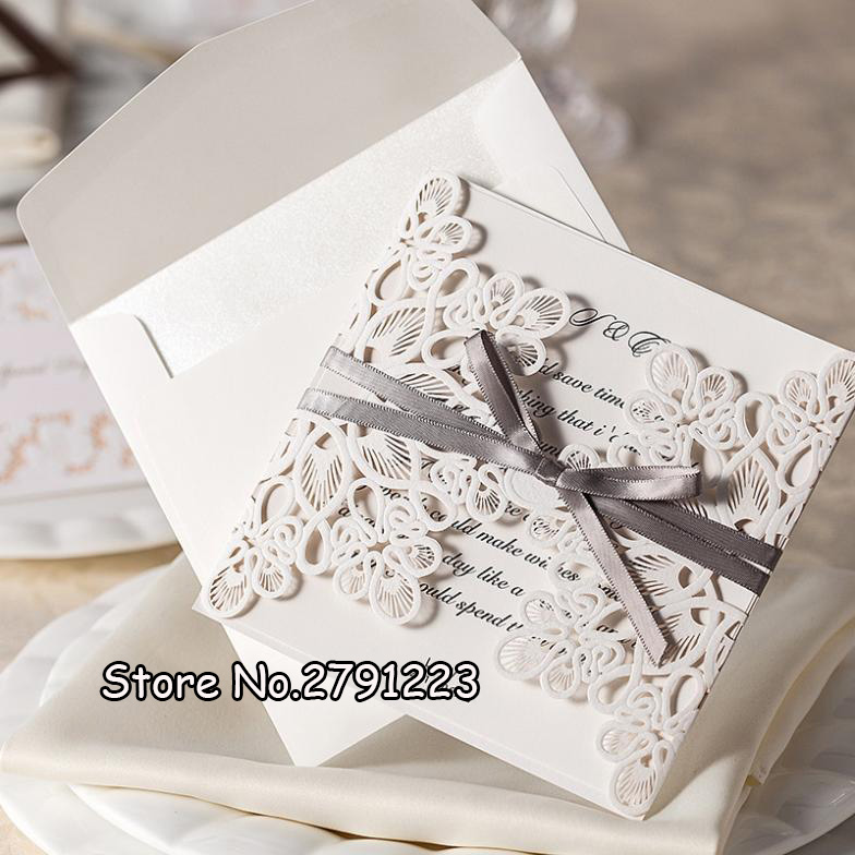 20pcslot wedding invitation card wedding cards invitation 2015 laser cut vintage wedding supplies