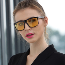 2019 New Night Driving glasses Anti-glare Glasses For Safety Driving Sunglasses Yellow Lens Night Vision Goggles for Drivers стоимость