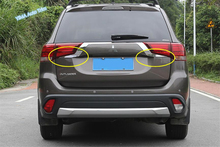 Lapetus Chrome Rear Trunk Tailgate Door Decoration Strip Lid Cover Trim Fit For Mitsubishi Outlander 2016