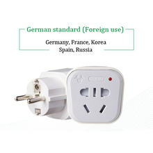Преобразование plug power конвертер GN-901G Немецкий стандарт GB Голландии, германия, франция, корея, и т. д.