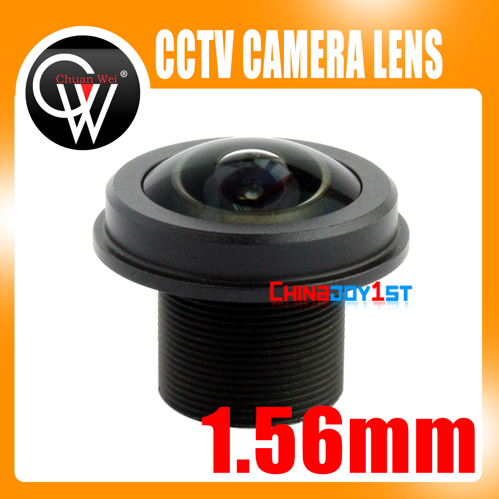 Lente de 5MP 1.56mm 180 grados FISH EYE Gran angular Fix Board CCTV Lente de cámara de seguridad para cámara CCTV HD