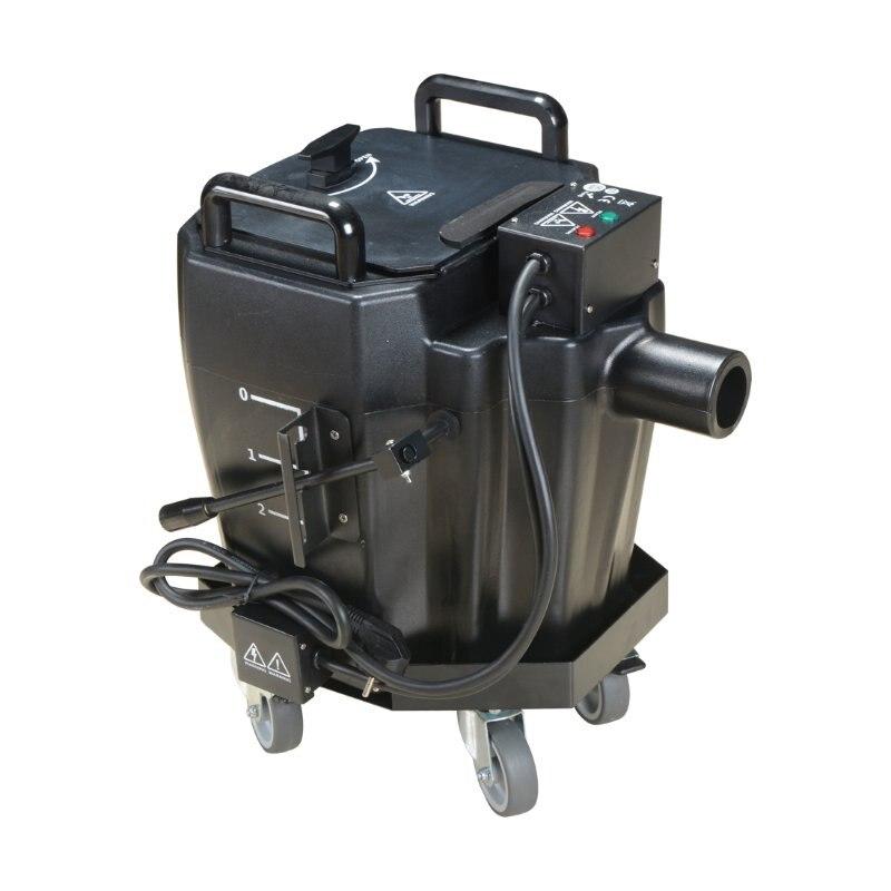 Offre spéciale stade Lgiht 6000 W Gound Machine à brouillard de glace sèche RASHA Machine à fumée de glace sèche Machine à brouillard au sol effets spéciaux pour l'événement