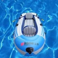 Надувная лодка резиновая лодка надувная лодка утолщенной воды рыболовное судно дрифтинг лодка надувная лодка pvc0. 45 мм
