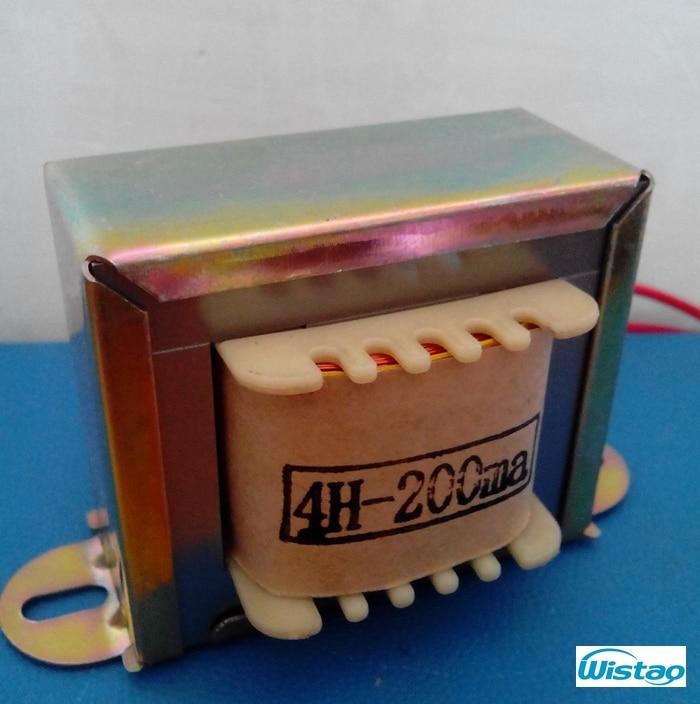4H / 200mA Tub Amp Choke spirale 1 copë e disponueshme tela e pastër OFC për amplifikues tubi Audio Audio HIFI DIY