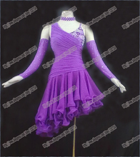 New Competition Latin dance dress,tango salsa samba dance dress,latin dance wear L-0049