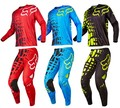 2017 fox Mens 360 Rhor Bicicleta Da Sujeira do Motocross Jersey + Calças Motocross MX ATV Dirt Bike Motos de Corrida Jogos