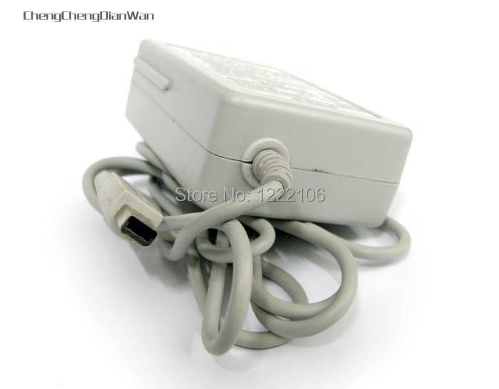 ChengChengDianWan 20pcs lot US Plug AC Adapter Power Charger Cable For 3DS NDSi DSi LL XL