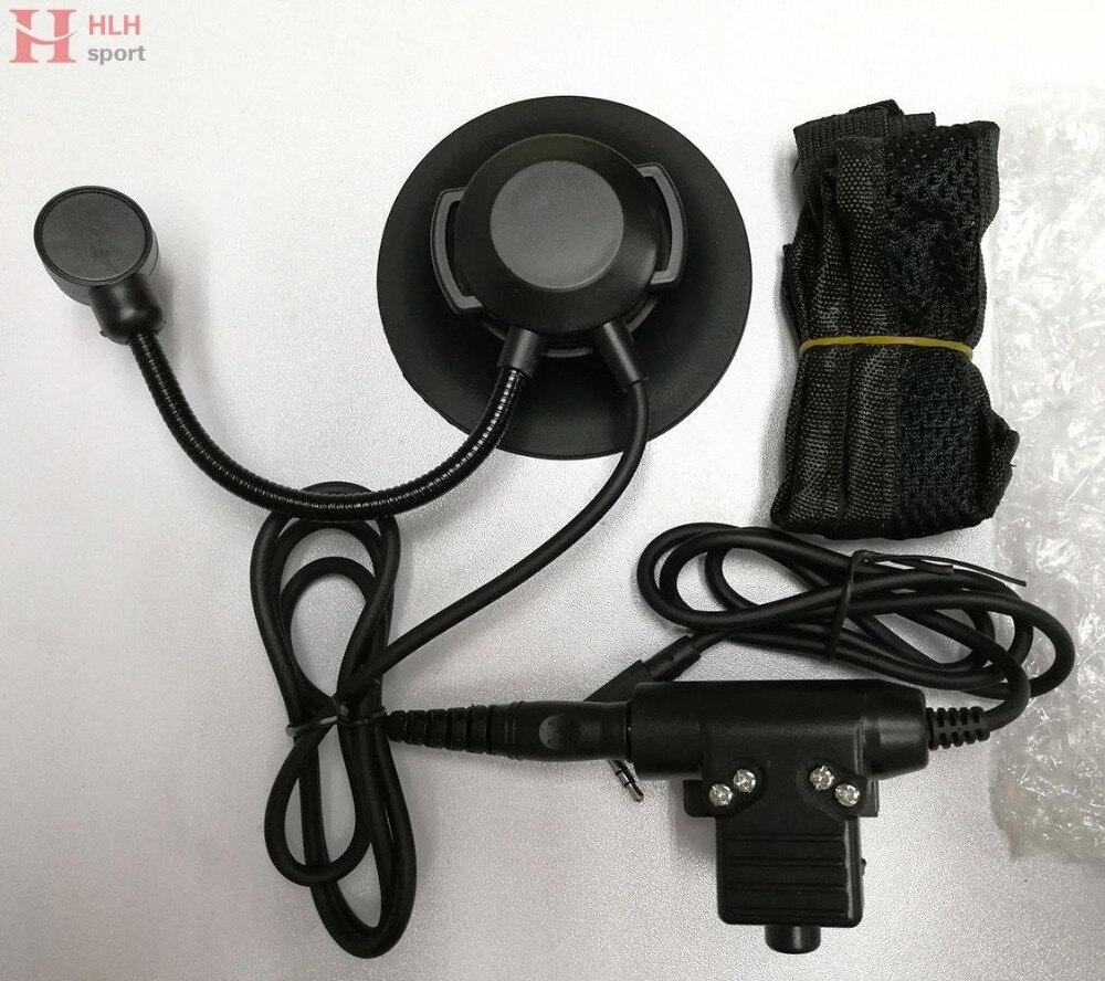 Тактическая гарнитура Selex TASC1, стандартный штекер, микрофон с Kenwood PTT Walkie Talkie CS Games, охота, страйкбол, наушники-4